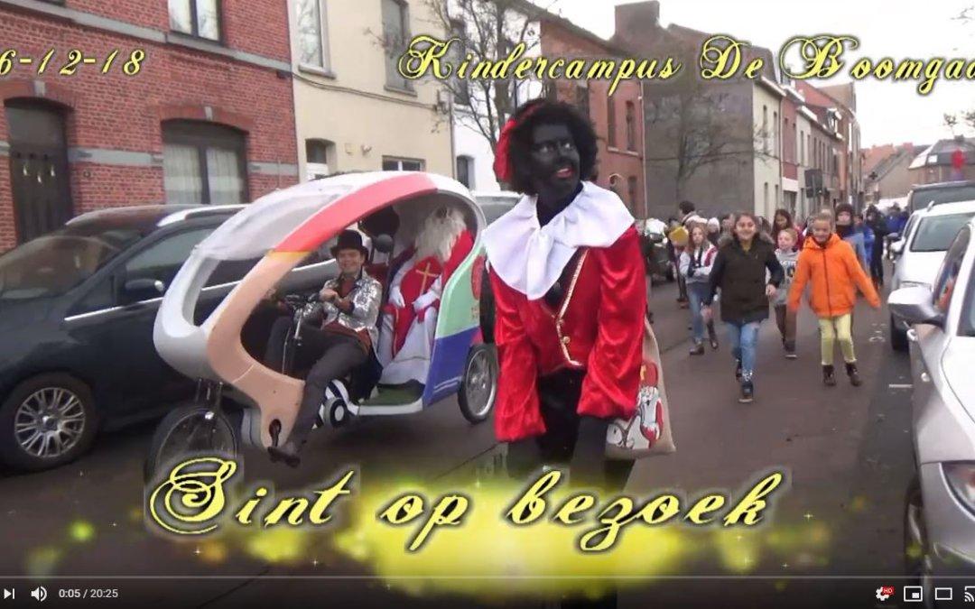 Sinterklaas op bezoek (filmpje)
