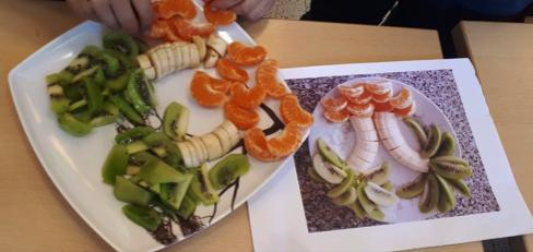 Workshop fruit- en groentefiguren